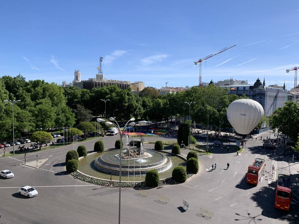 Plaza de Neptuno Madrid